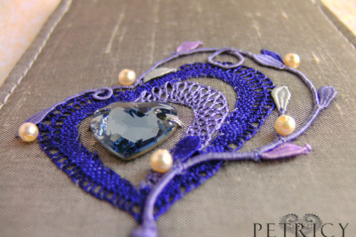 Three Hearts - Purple_Blue and Lavender