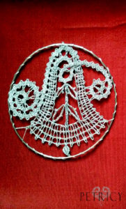 Bobbin Lace Christmas Decorations