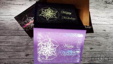 Bobbin lace art foil print