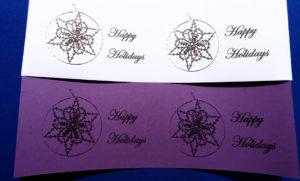 Printed Bobbin lace