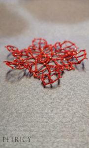 Tension problems in bobbin lace