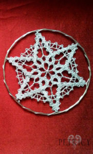 Bobbin Lace Christmas Decorations