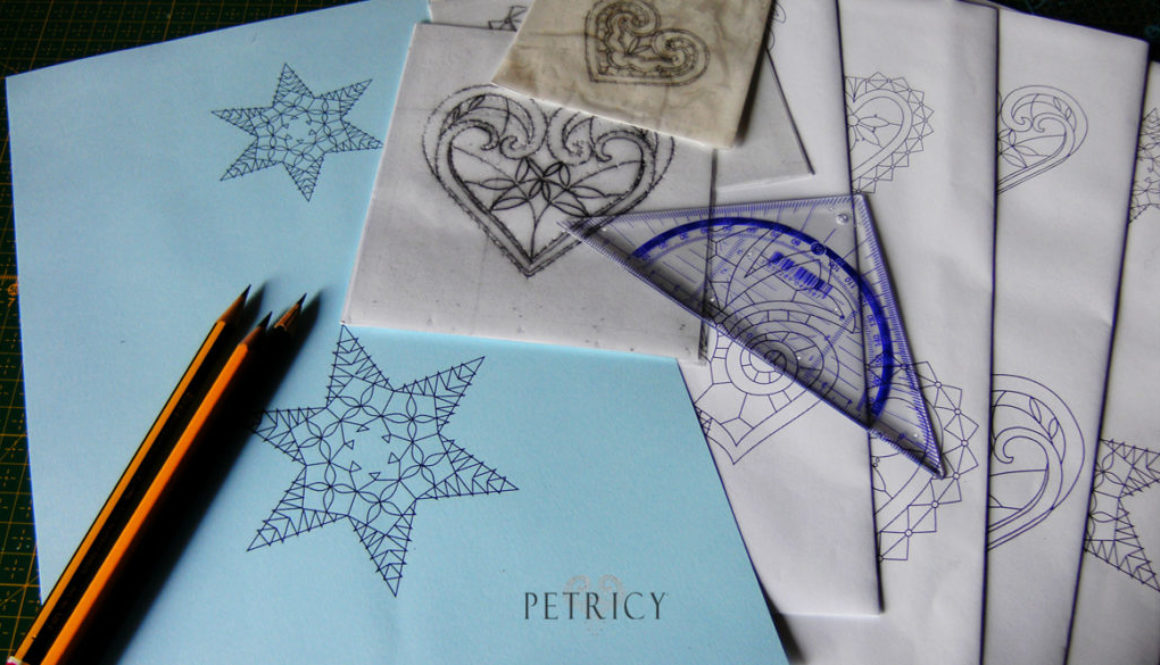 Bobbin Lace Pattern making