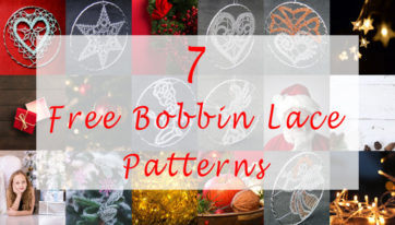Free Christmas Bobbin Lace Patterns Blog