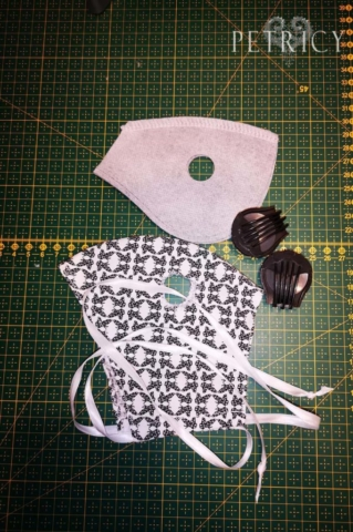 Fabric cut and sew